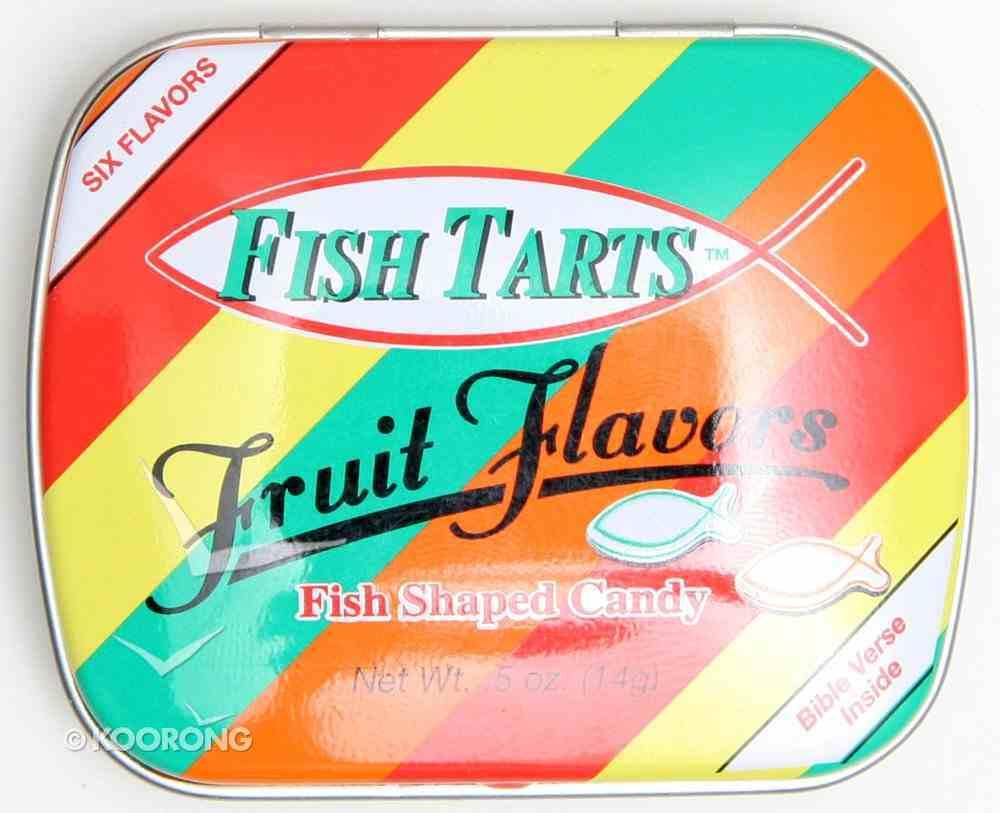 Scripture Fish Mints Pocket Tin: Fish Tarts General Gift
