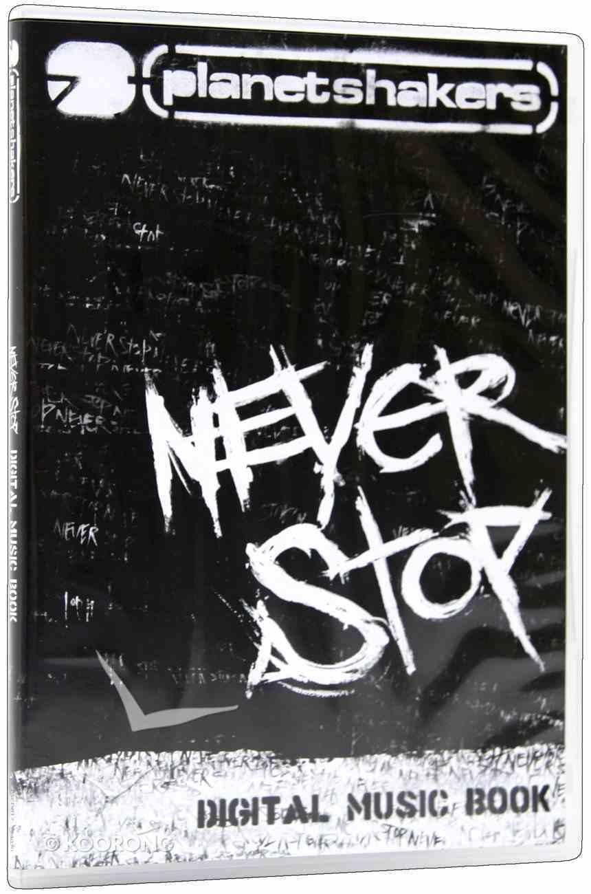 2007 Never Stop CDROM (Music Book) CD-rom