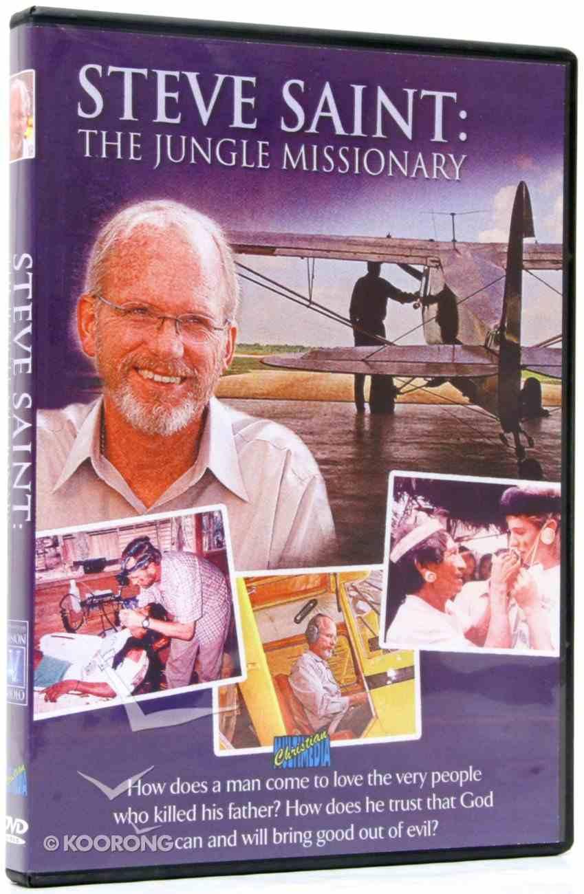 Steve Saint: The Jungle Missionary DVD
