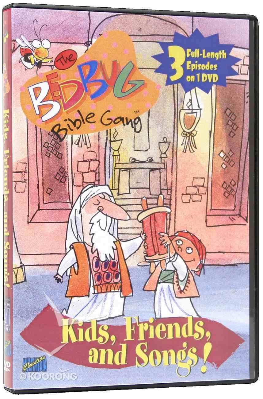 Bedbug Bible Gang: Kids, Friends, and Songs! DVD