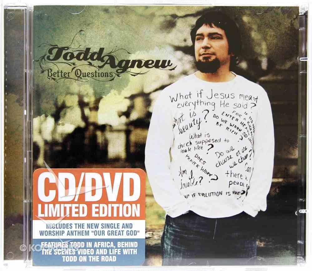 Better Questions CD & DVD Pack CD