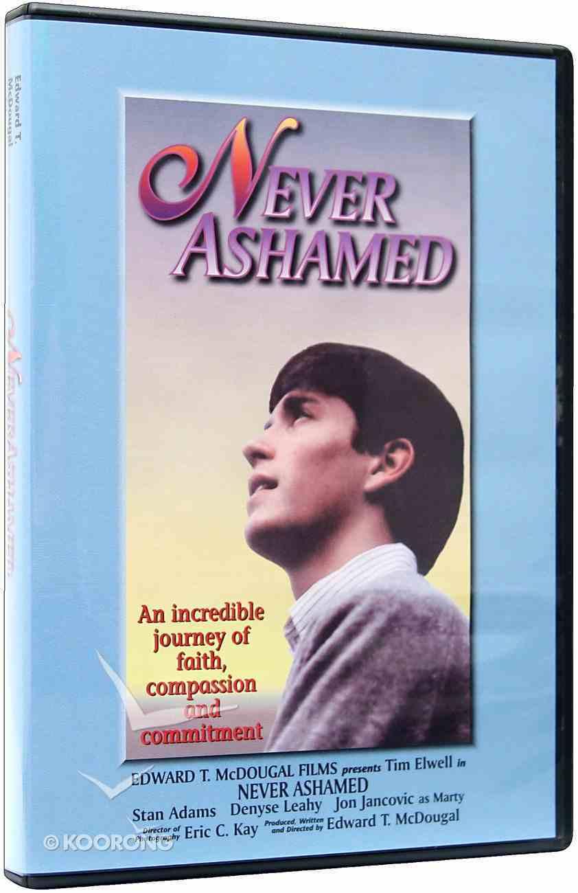 Never Ashamed DVD