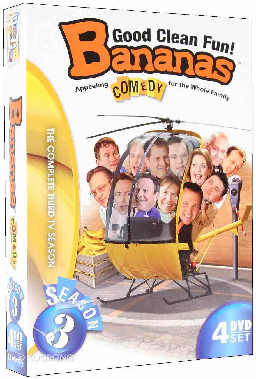 Bananas Tv Season 3 DVD