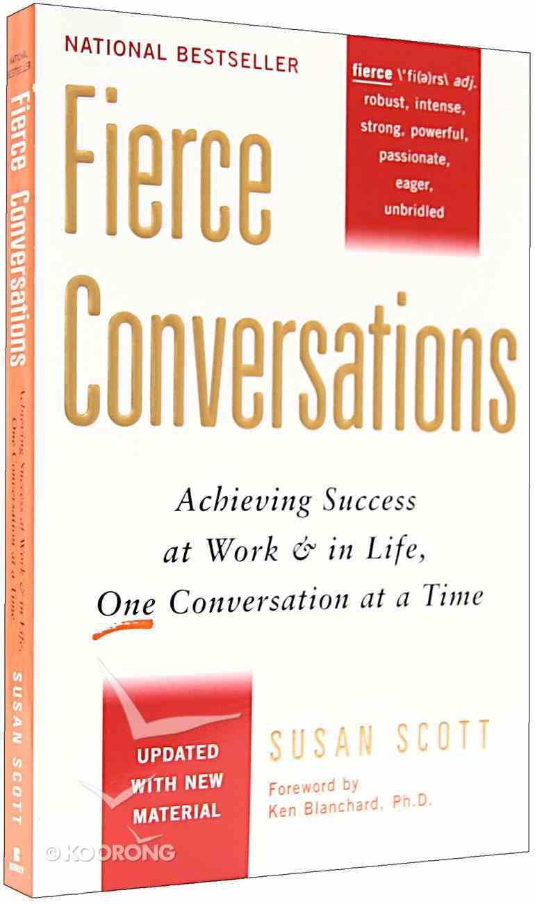 Fierce Conversations Paperback