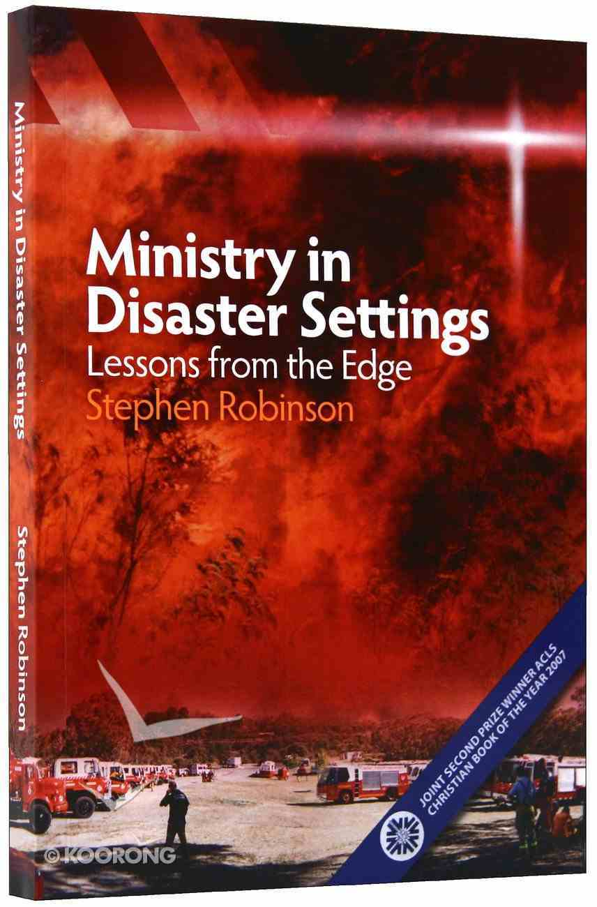 Ministry in Disaster Settings Paperback