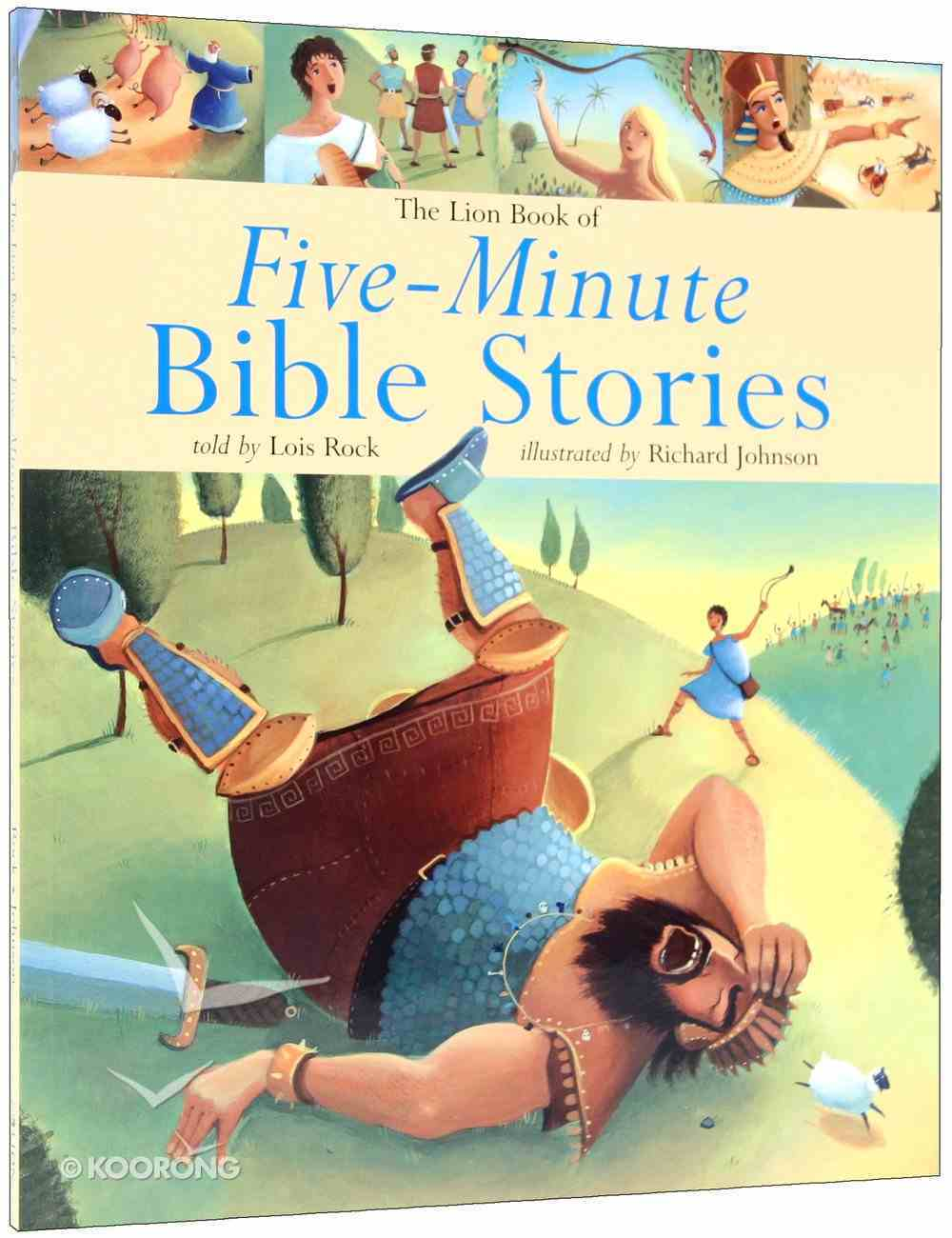Five-Minute Bible Stories Paperback