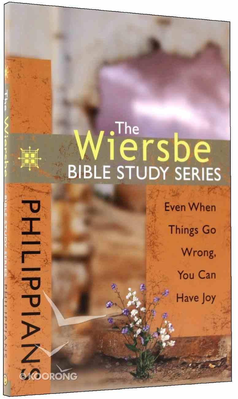 Philippians (Wiersbe Bible Study Series) Paperback