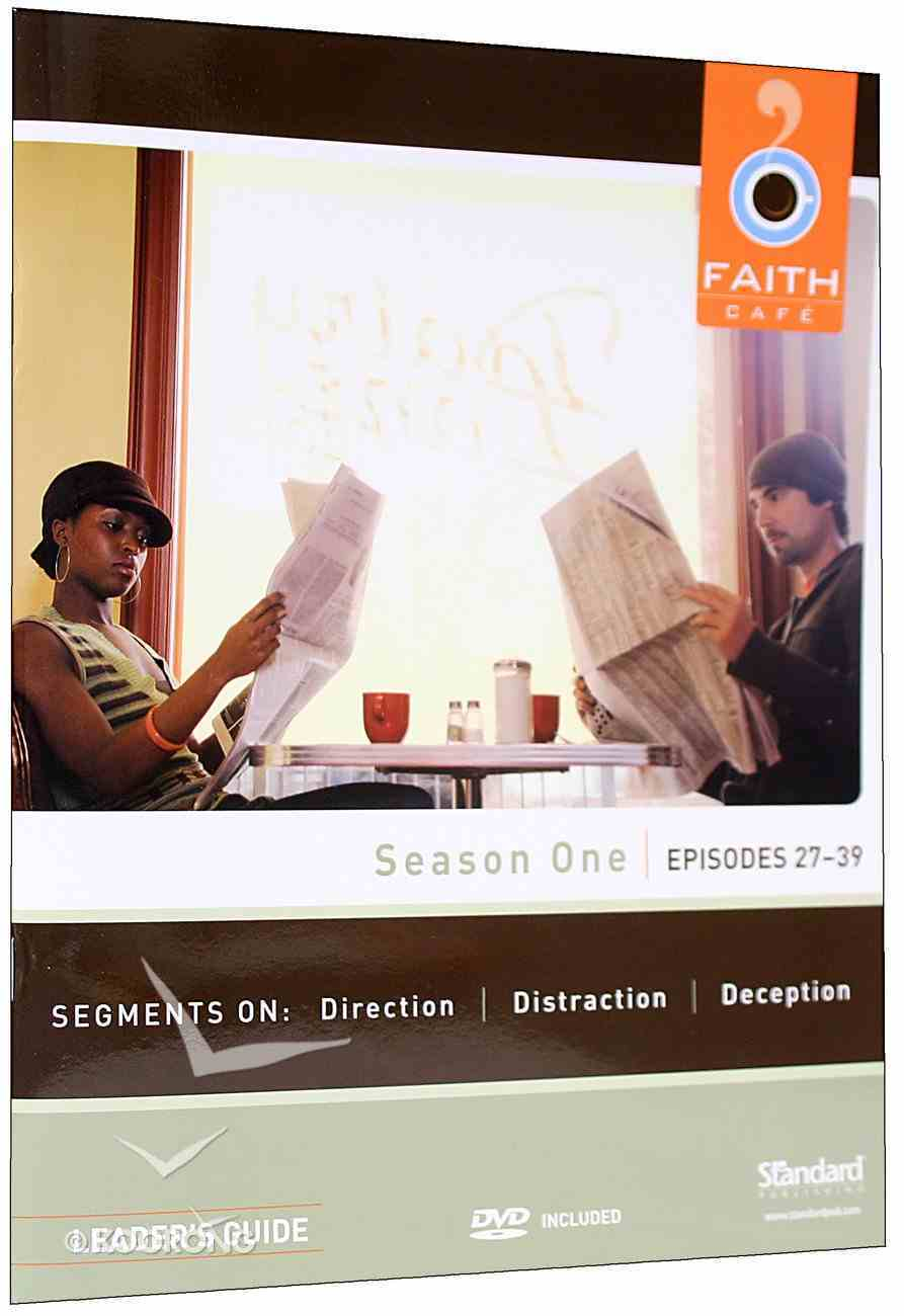 Season One Episodes 27-39 With DVD (Leader's Guide) (Faith Cafe Series) Paperback