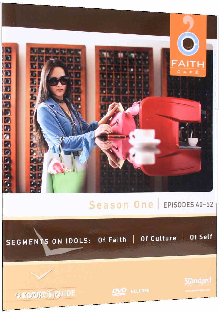 Season One Episodes 40-52 With DVD (Leader's Guide) (Faith Cafe Series) Paperback