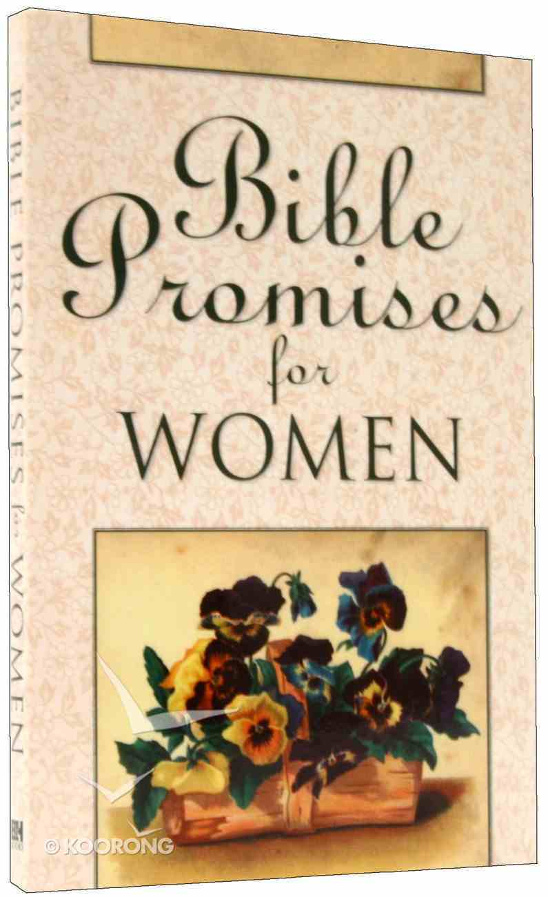 Bible Promises For Women (Hcsb) Paperback