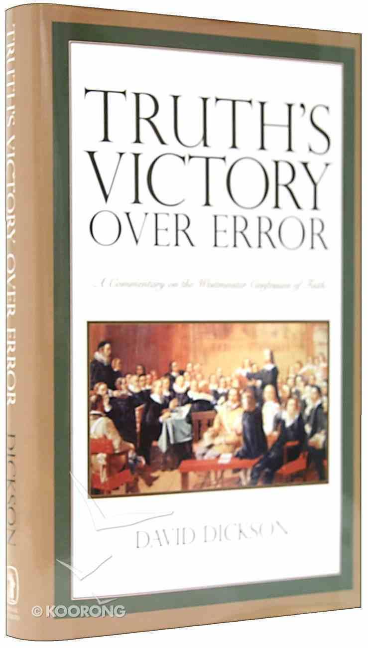 Truth's Victory Over Error Hardback