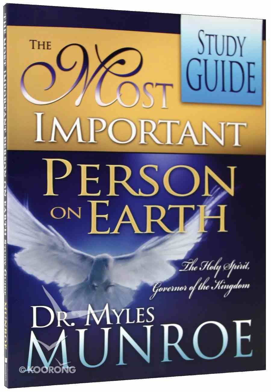 Most Important Person on Earth (Study Guide) Paperback