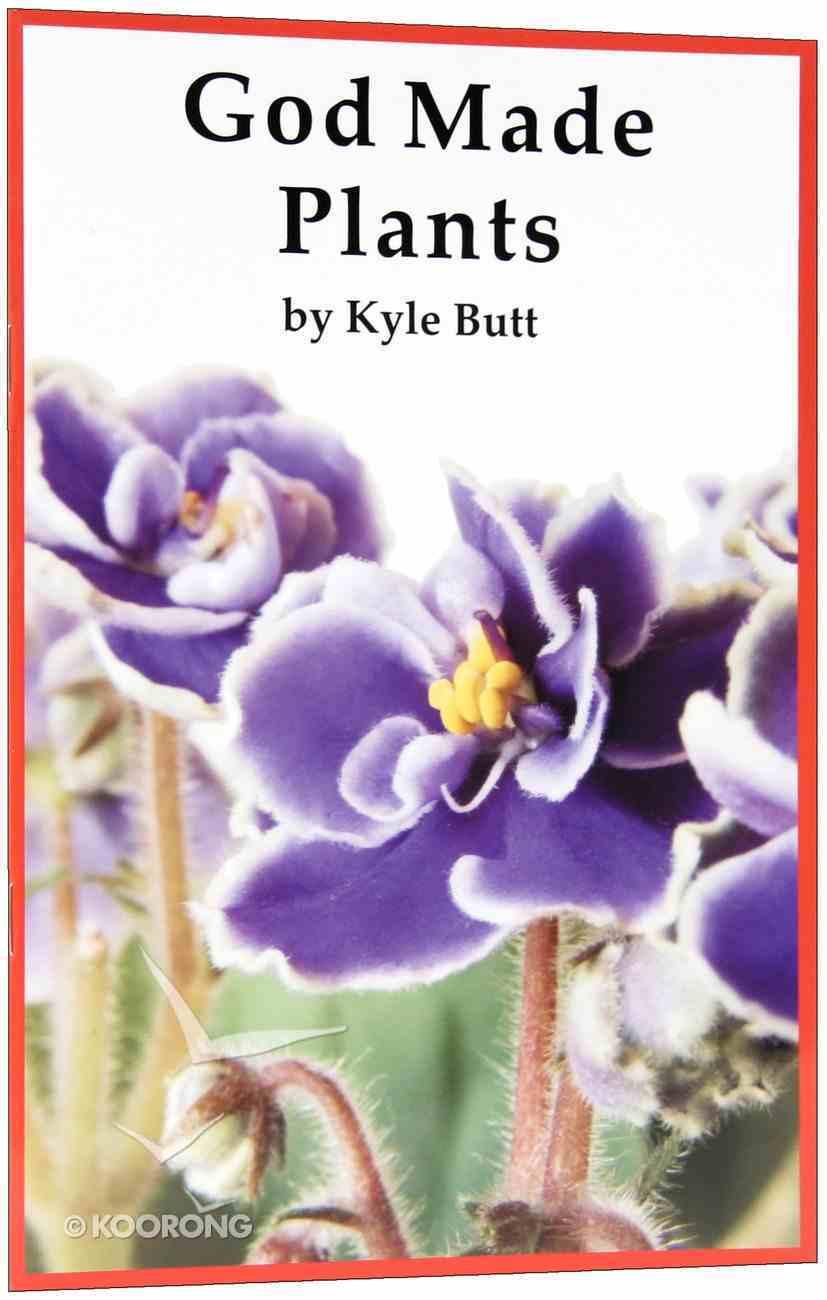God Made Plants (A P Reader Series) Paperback