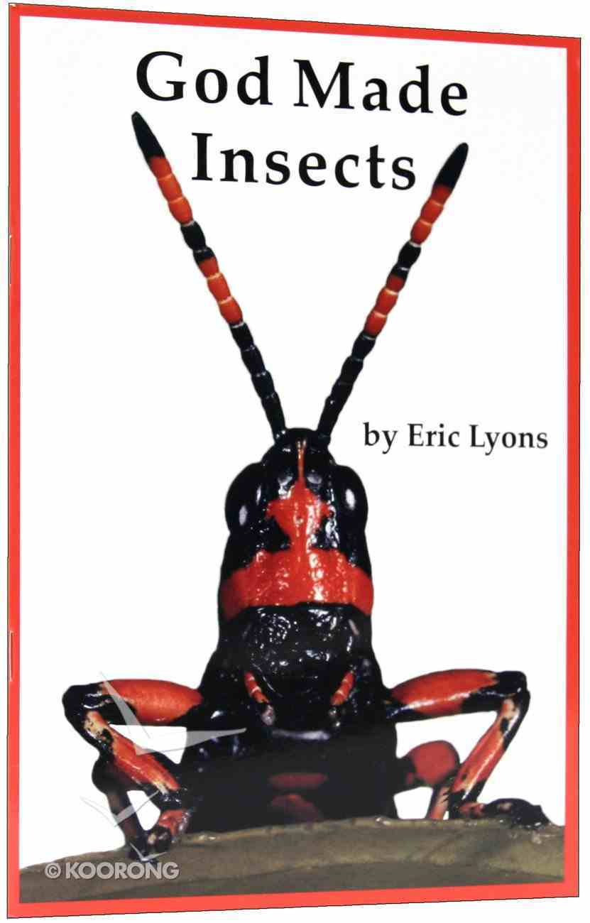 God Made Insects (A P Reader Series) Paperback