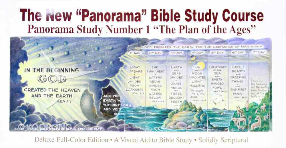 The Plan of the Ages (#01 in The New Panorama Bible Study Course) Paperback
