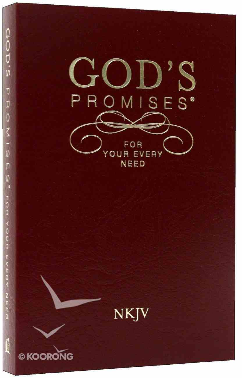God's Promises For Your Every Need (Nkjv) Imitation Leather