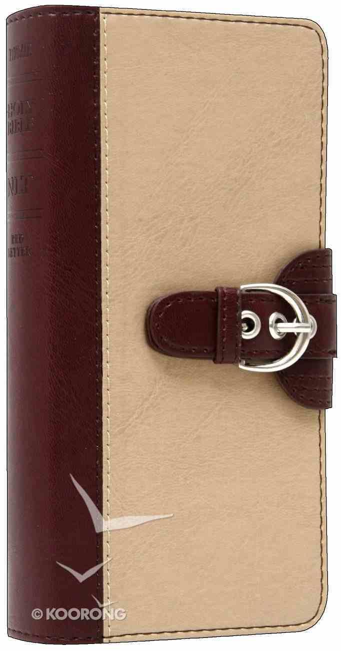 NLT Pocket Thinline Port/Beige Magnetic Buckle (Red Letter Edition) Imitation Leather
