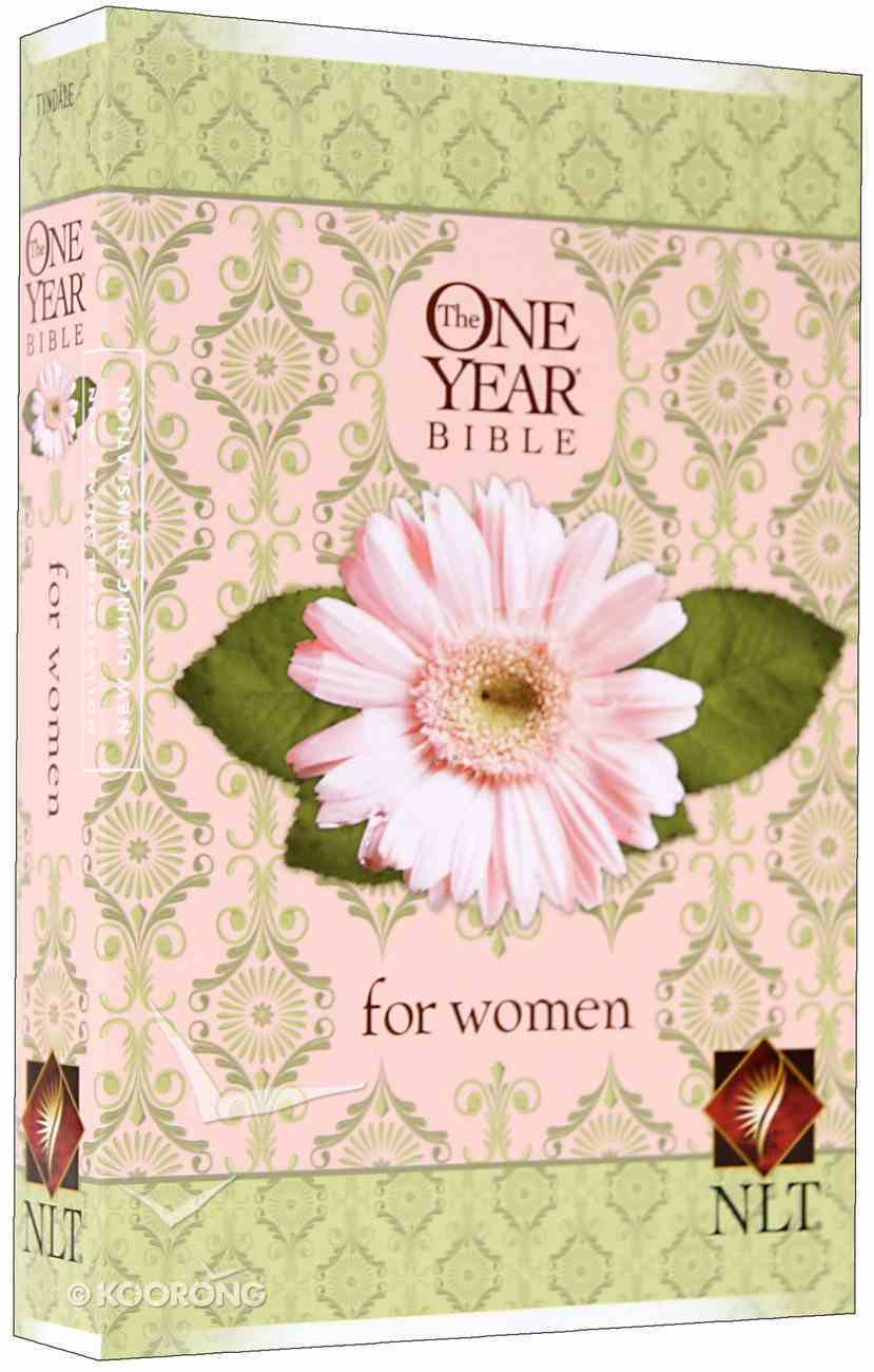 NLT One Year Bible For Women (Black Letter Edition) Paperback