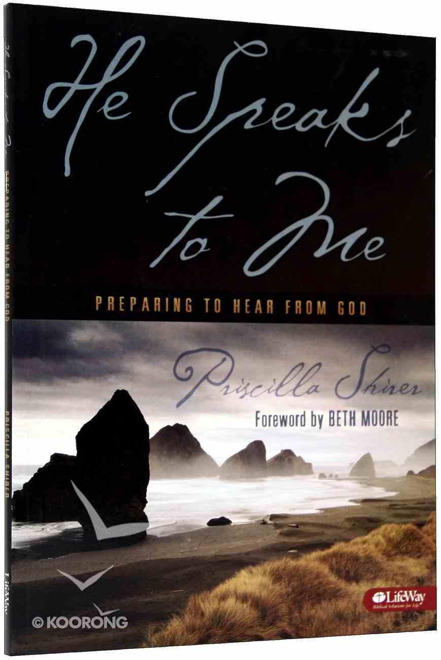 He Speaks to Me (Member Book) Paperback