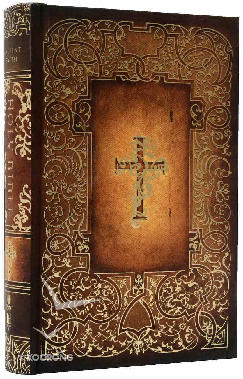 HCSB Ancient Faith Bible Hardback