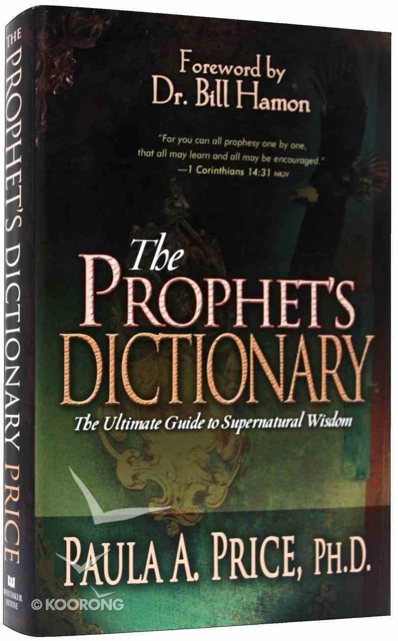 The Prophet's Dictionary Hardback