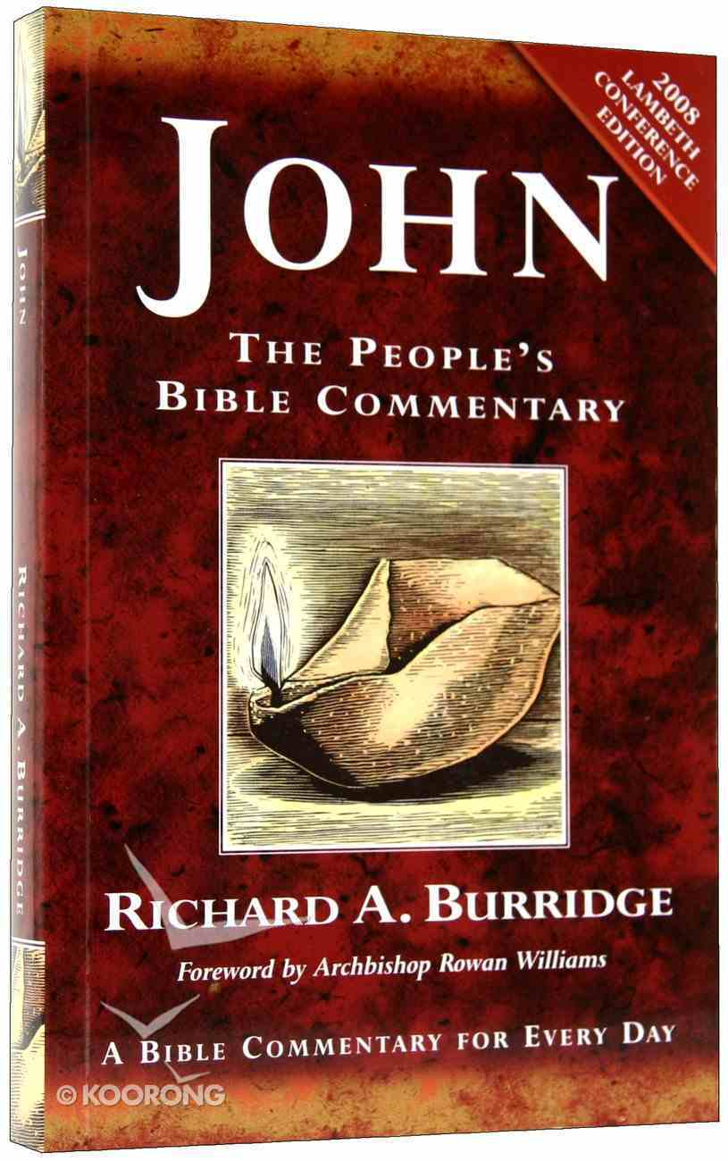 John Special Edition (People's Bible Commentary Series) Paperback