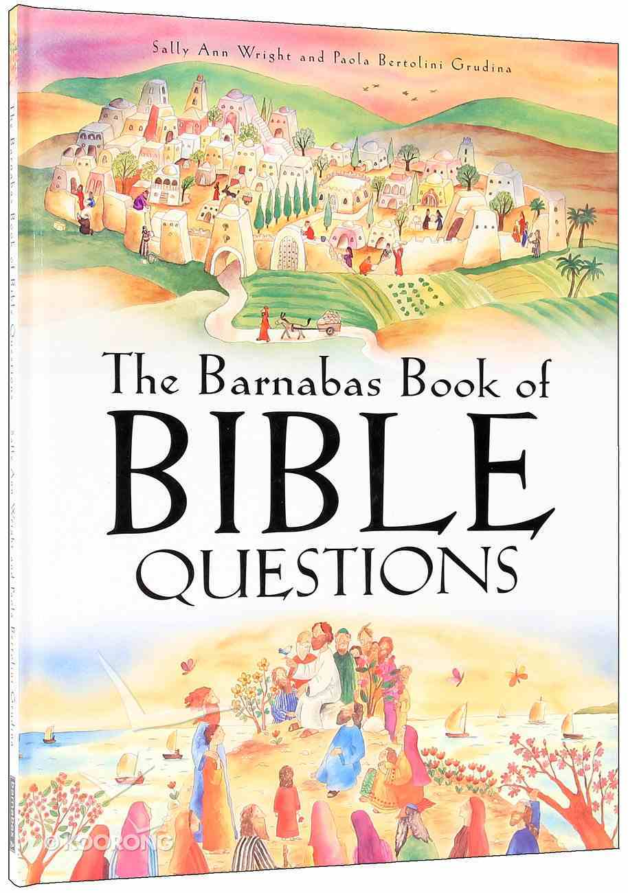 The Barnabas Book of the Bible Questions Hardback