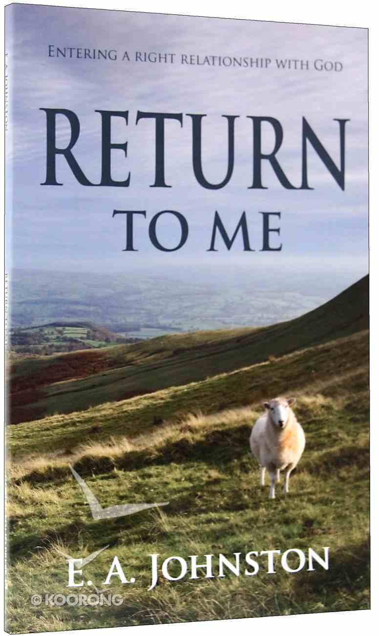 Return to Me Paperback