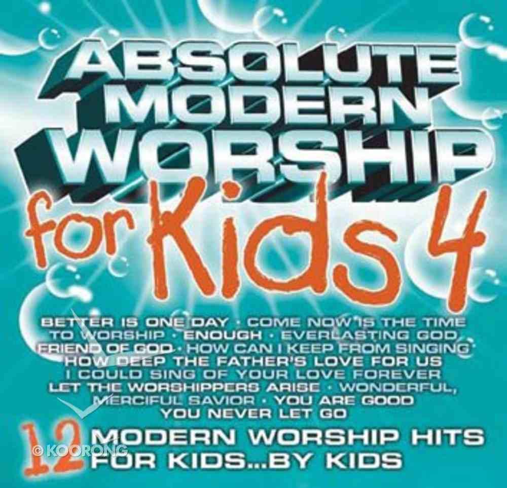 Absolute Modern Worship For Kids (Vol 4: Aqua) CD