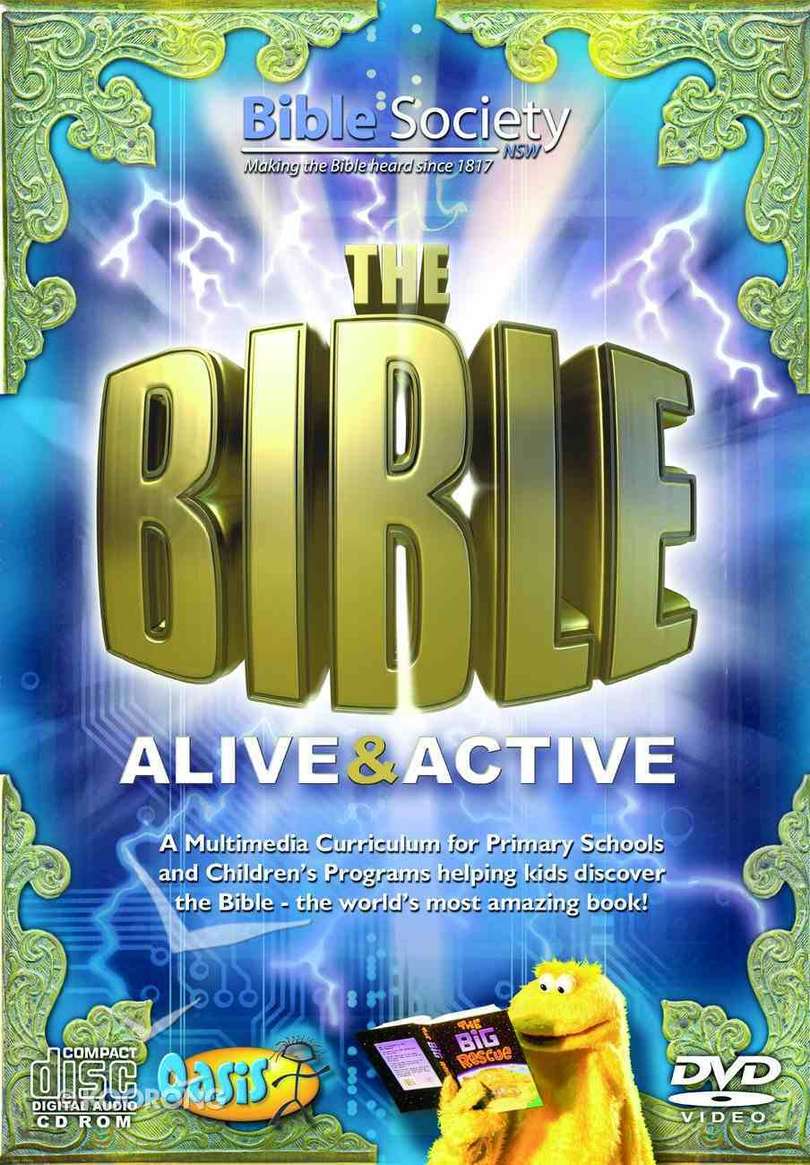 The Bible Alive and Active (Cdrom/Dvd Kit) (Oasis Curriculum Series) Pack