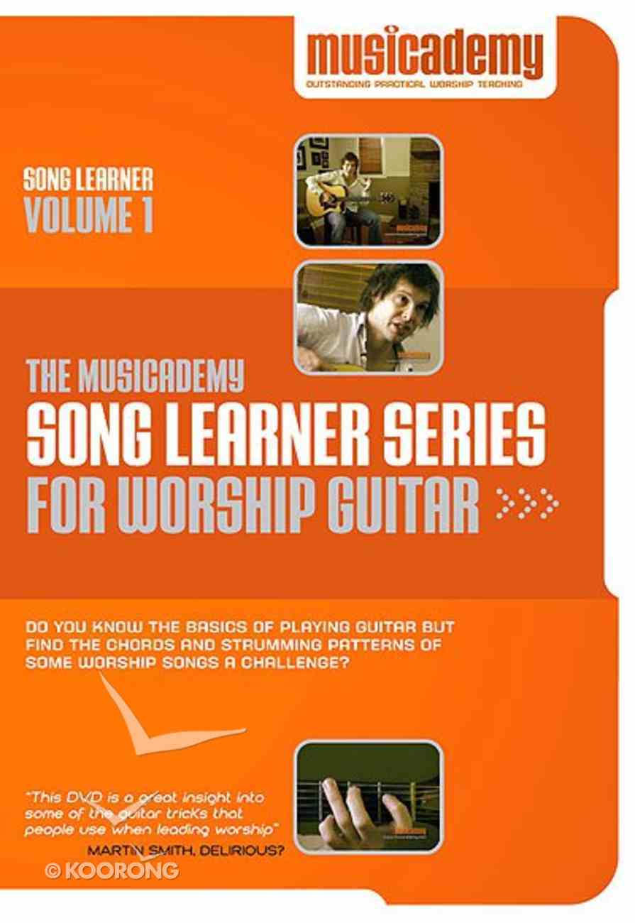 Musicademy: Song Learner Series For Worship Guitar Volume 1 DVD