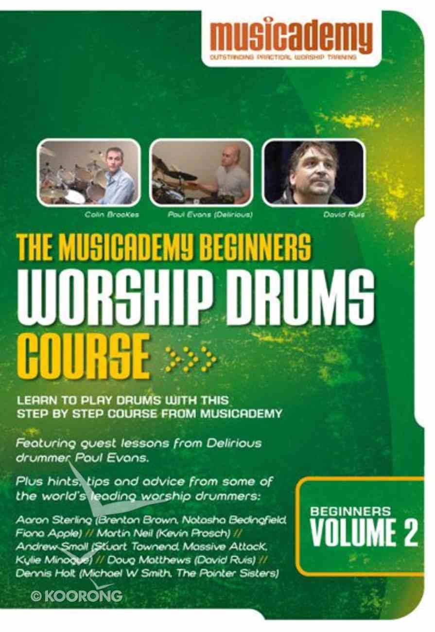Musicademy: Beginner's Worship Drums Volume 2 DVD