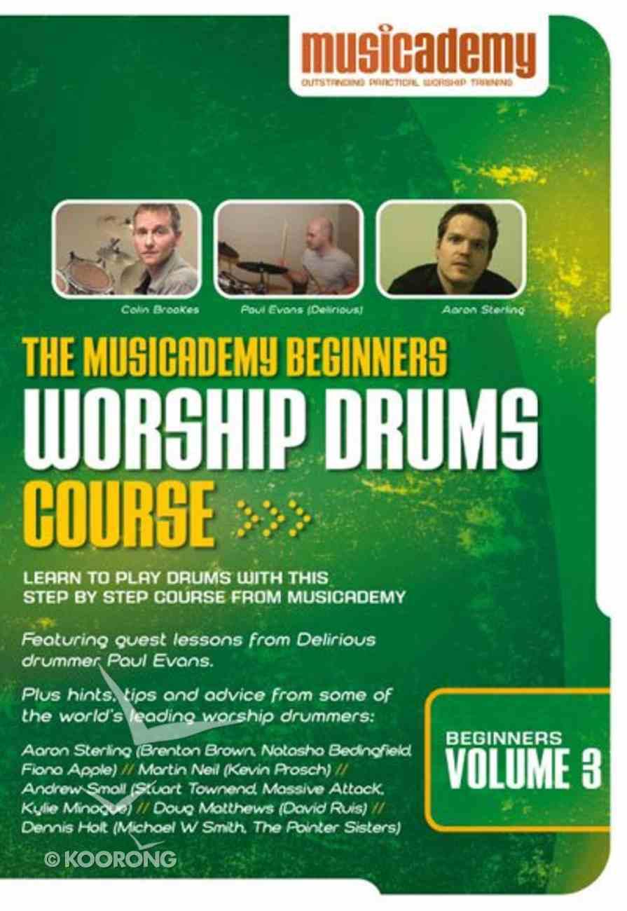 Musicademy: Beginner's Worship Volume 3 DVD