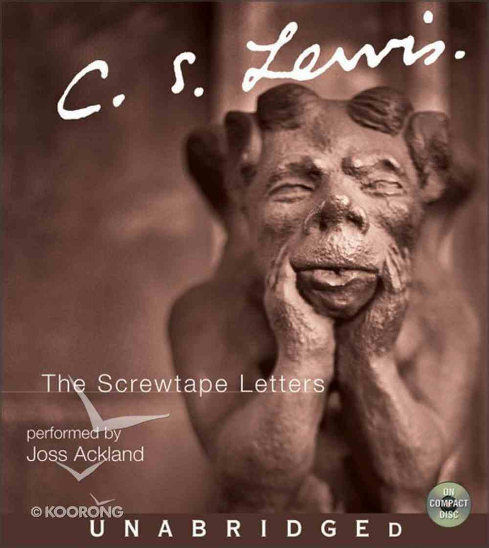 The Screwtape Letters (6 Hours, 5cds) CD