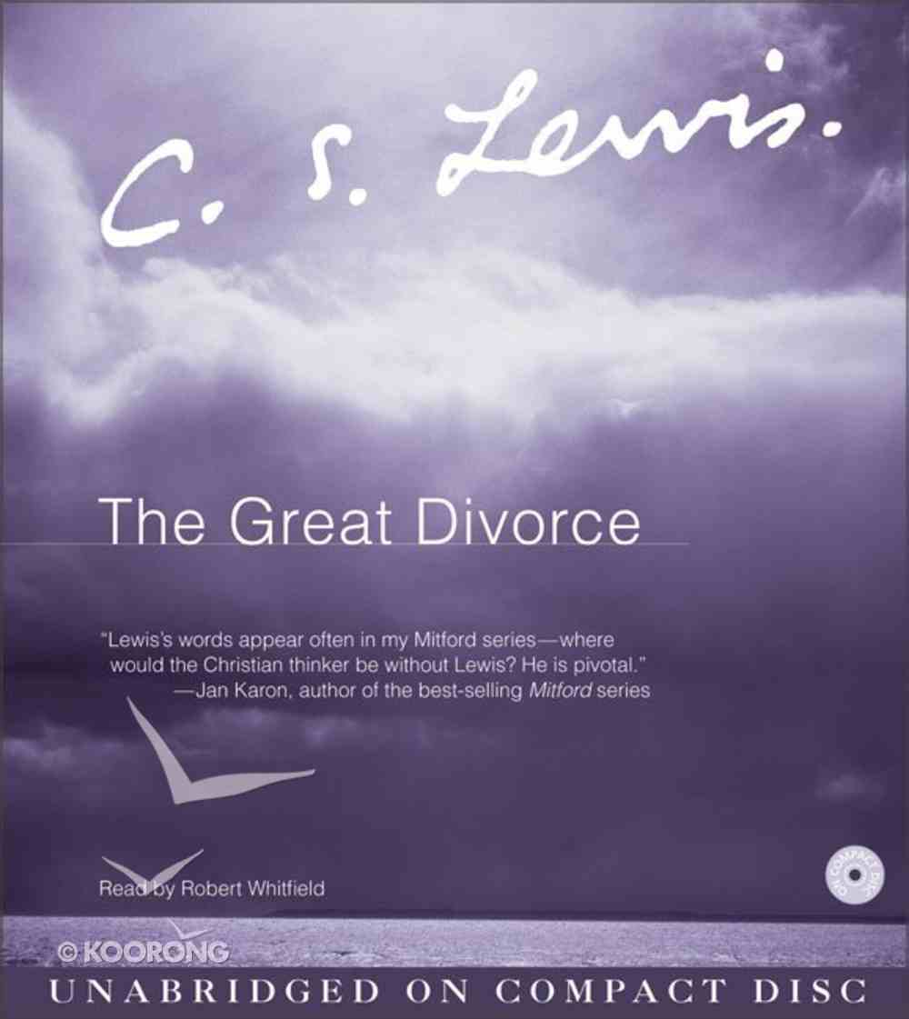 The Great Divorce CD