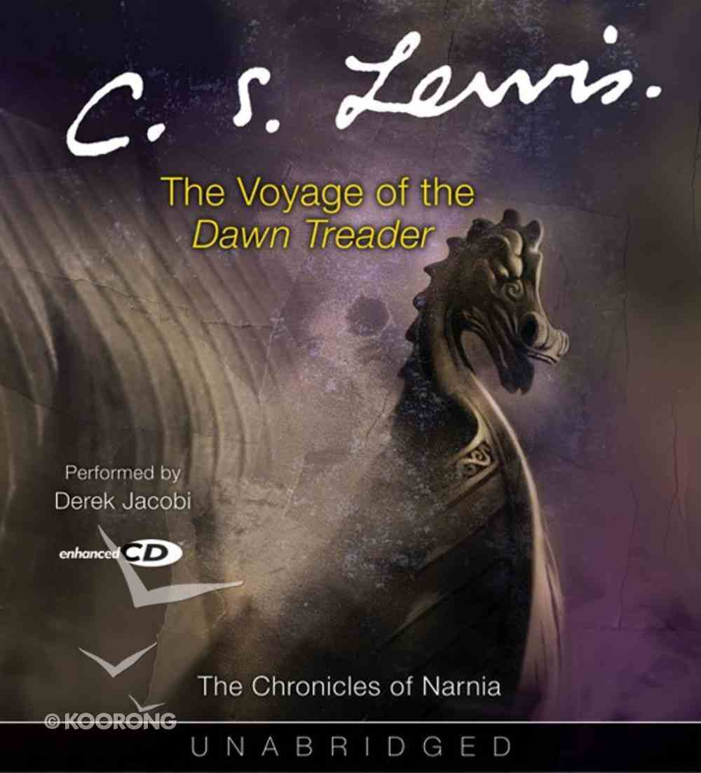The Narnia #05: Voyage of the Dawn Treader (Adult) (#05 in Chronicles Of Narnia Audio Series) CD