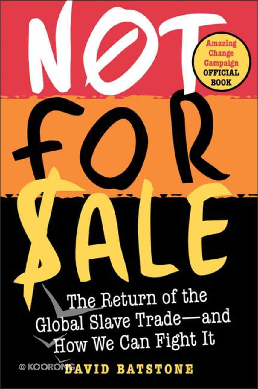 Not For Sale Paperback