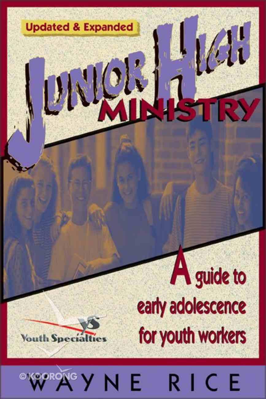Junior High Ministry Paperback
