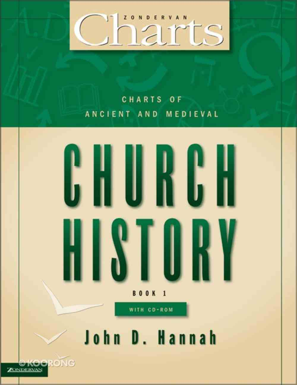 Charts of Ancient and Medieval Church History (Zondervan Charts Series) Paperback