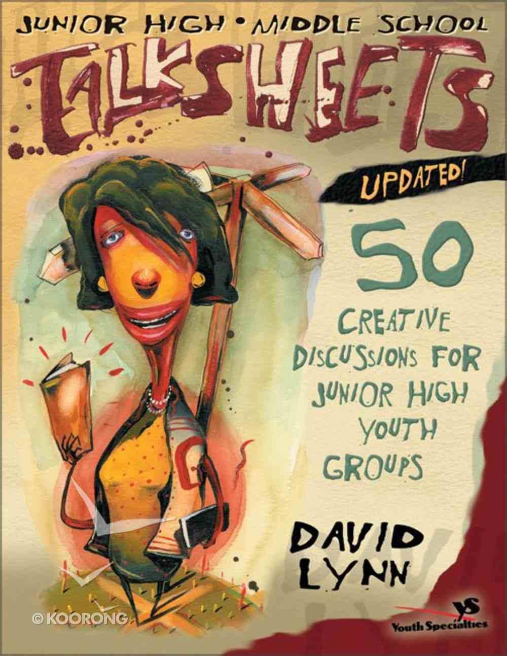 Junior High & Middle School Talksheets (2001) Paperback