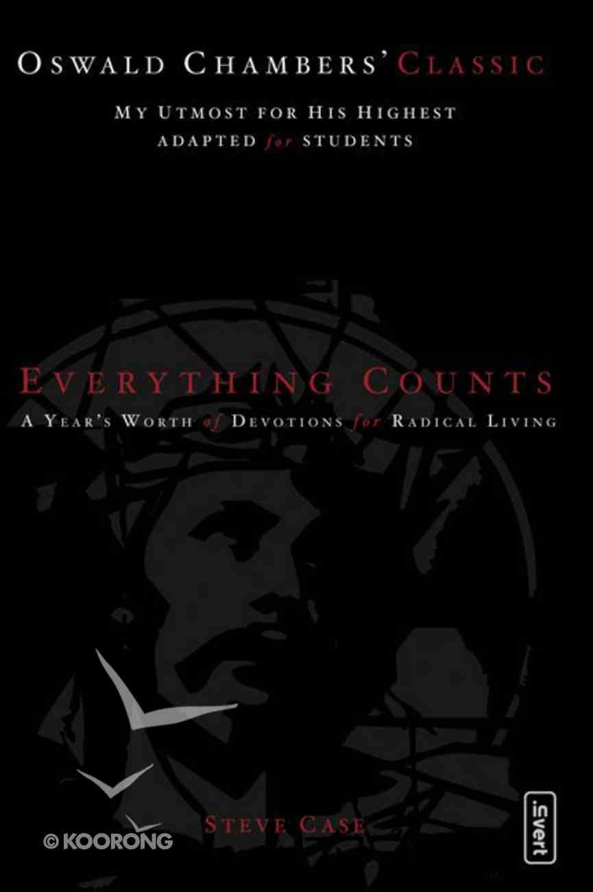 Everything Counts Paperback