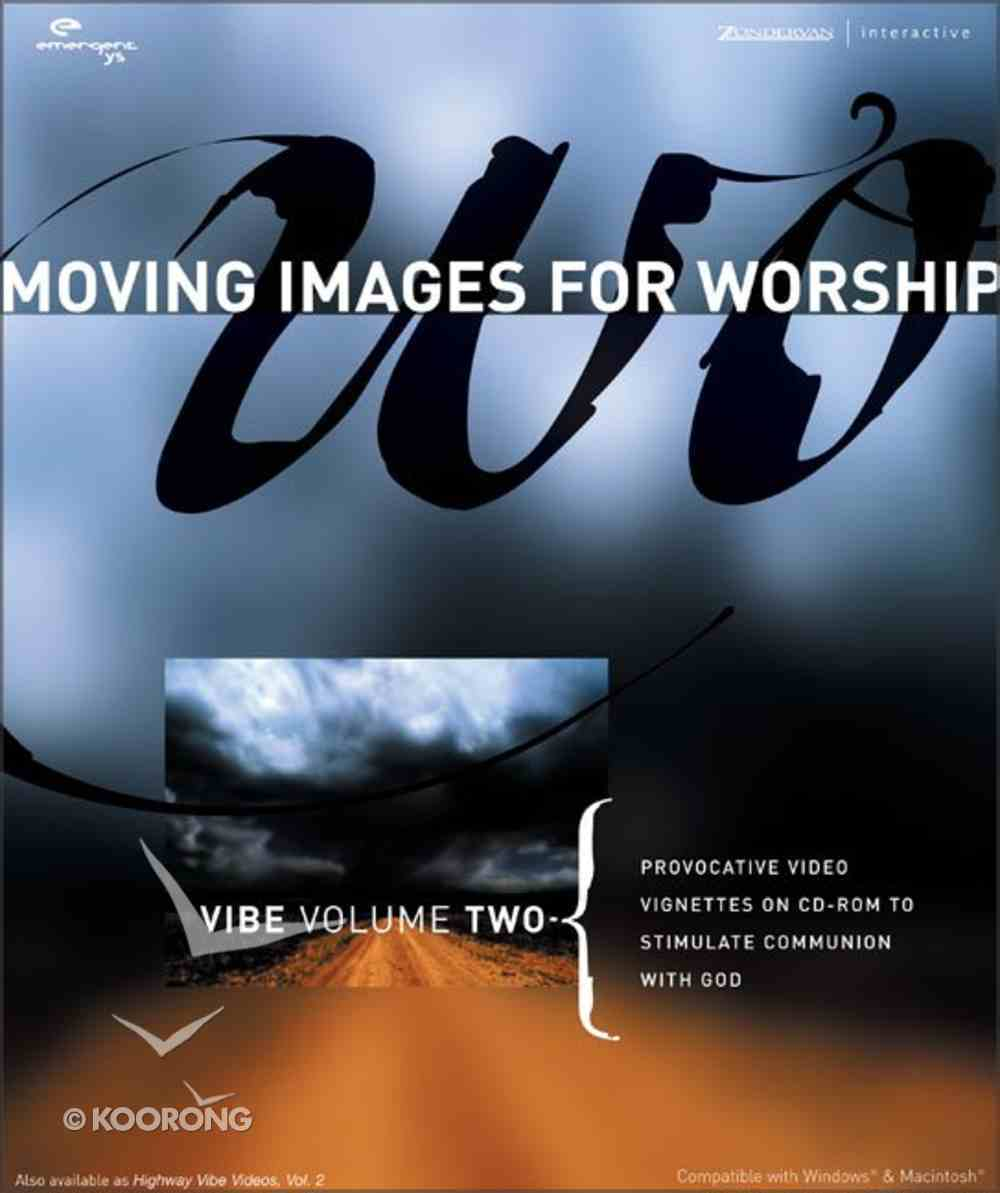 Moving Elements For Worship Vibe (Vol 2) CD-rom