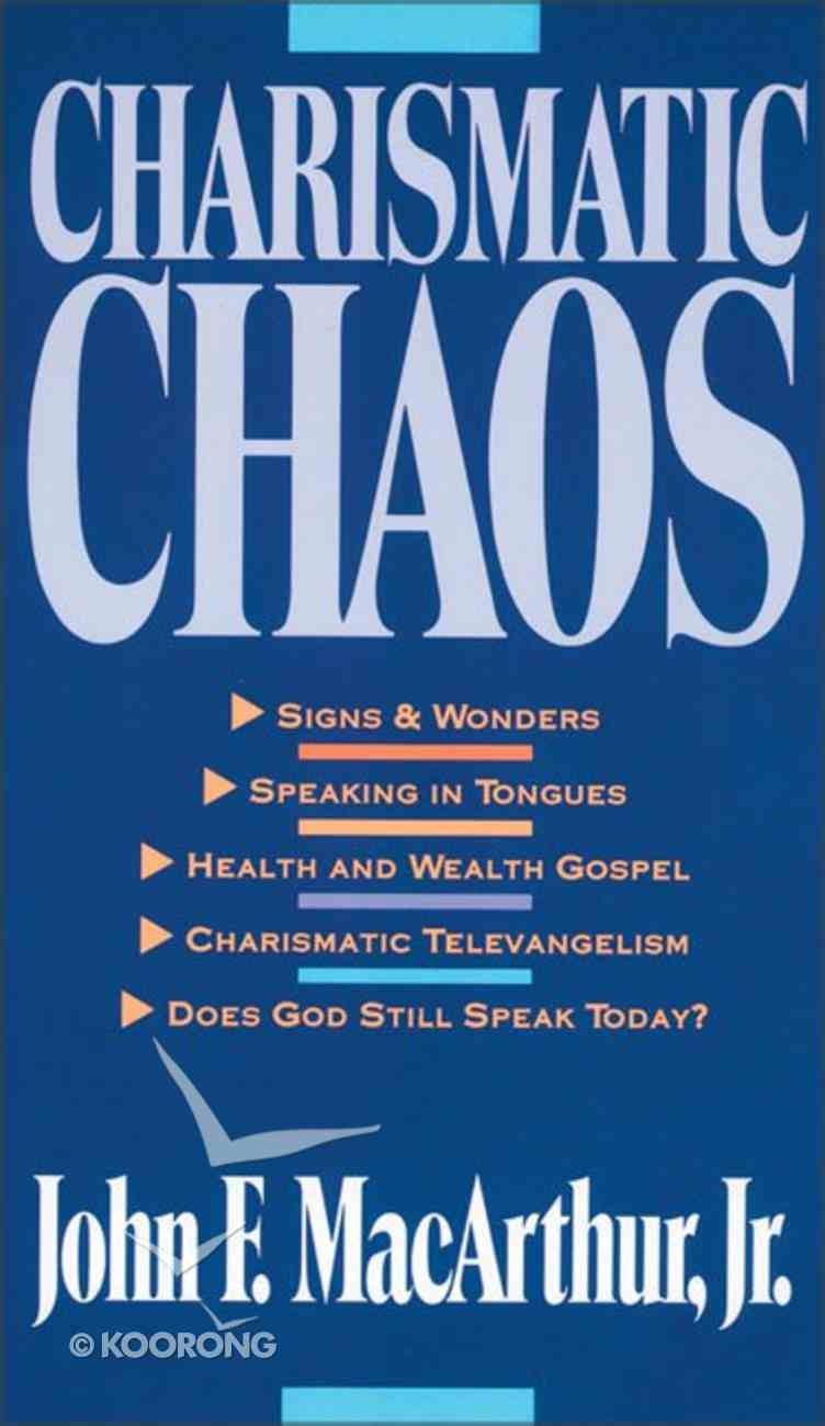Charismatic Chaos Paperback