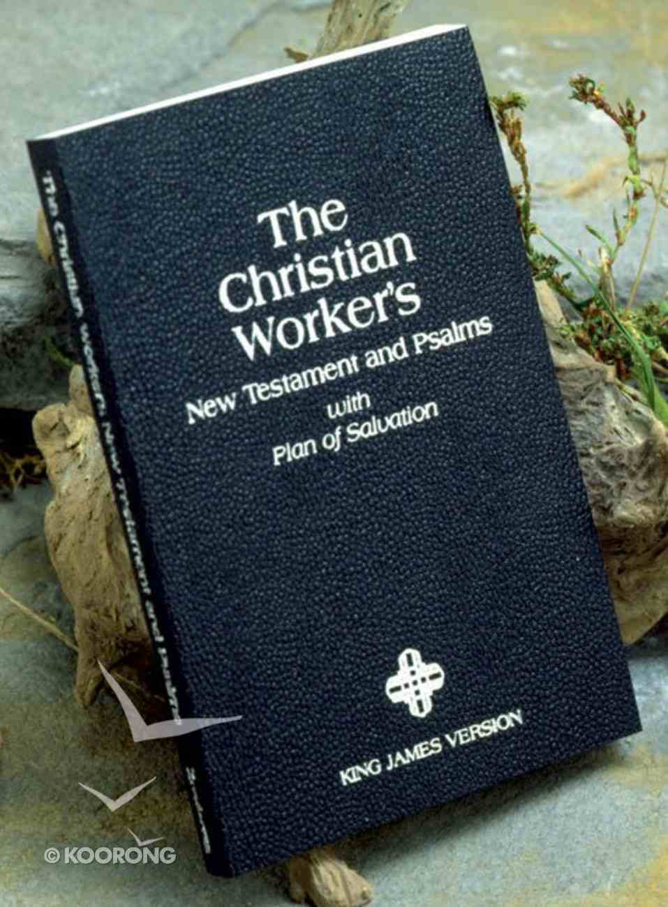 KJV Christian Worker New Testament & Psalms Paperback
