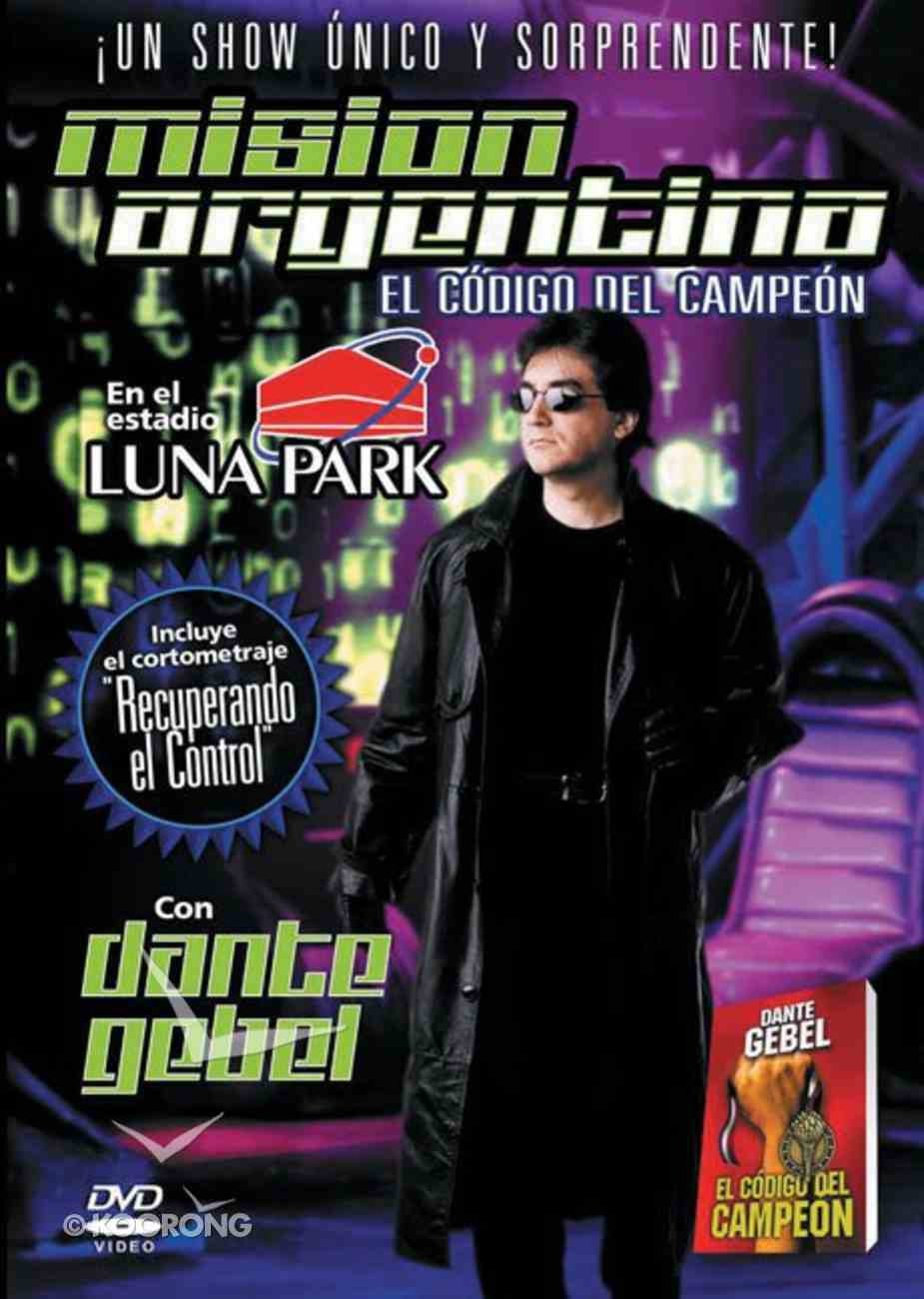 Codigo Del Campeon: Mison Argentina (Champion Code: Argentina Mission) DVD