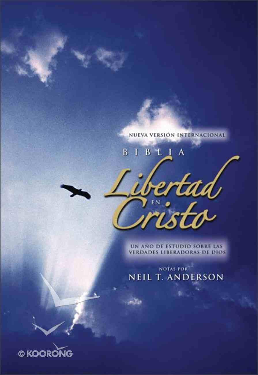 Nvi Libertad En Cristo (Nvi Freedom In Christ Spanish Bible) Hardback