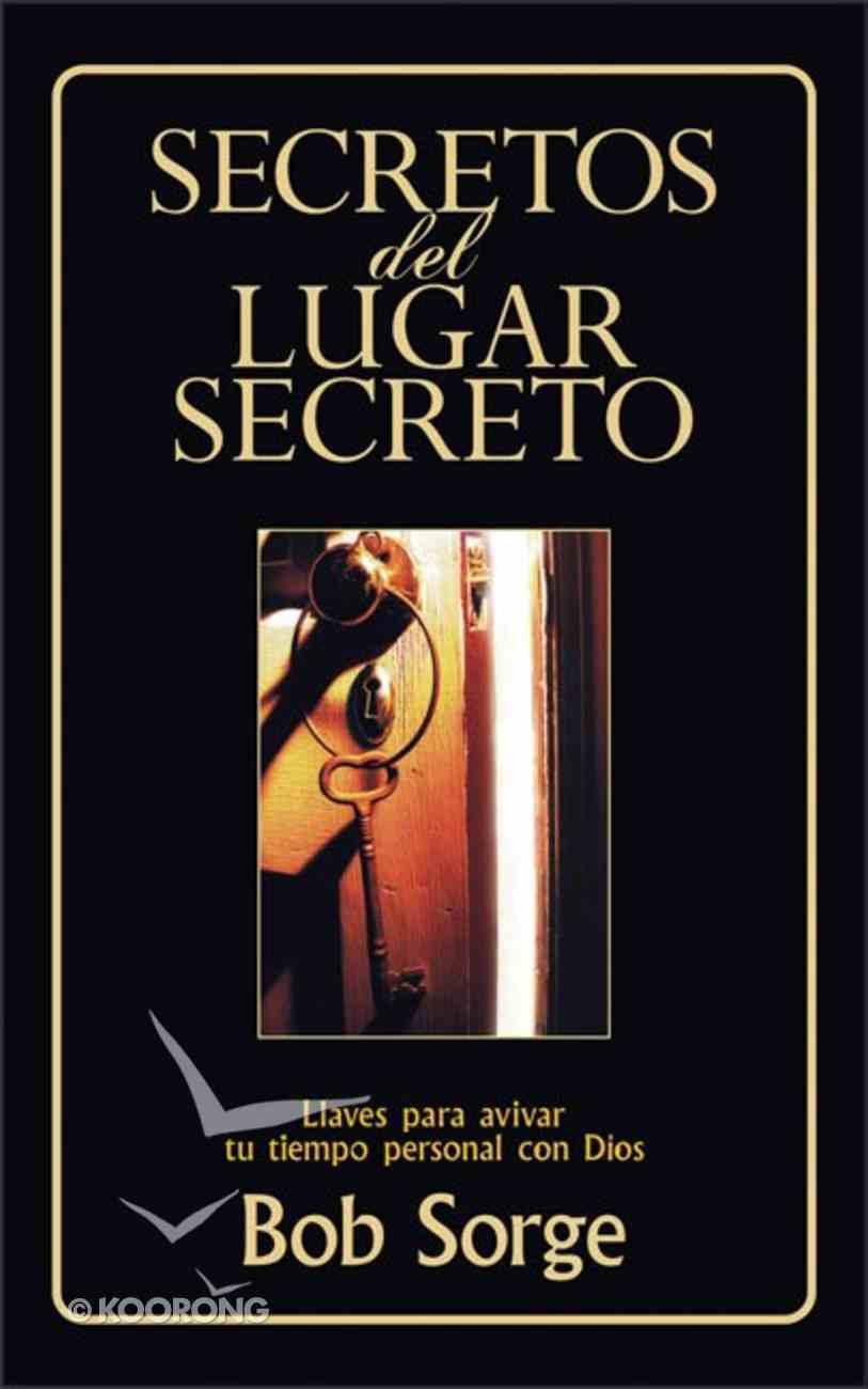 Secretos Del Lugar Secreto (Companion Study Guide) (Secrets Of The Secret Place Series) Paperback
