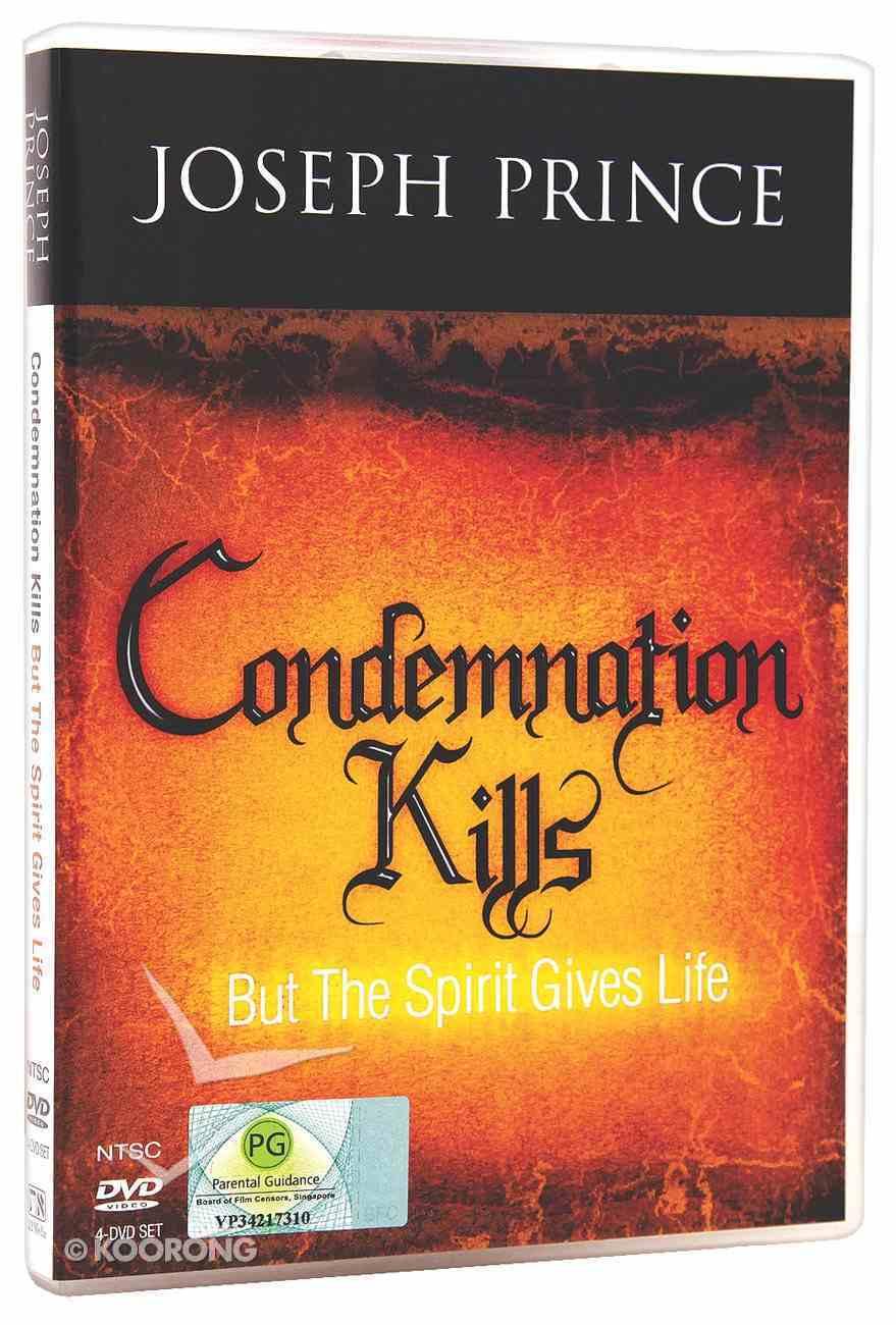 Condemnation Kills But the Spirit Gives Life (4 Dvds) DVD