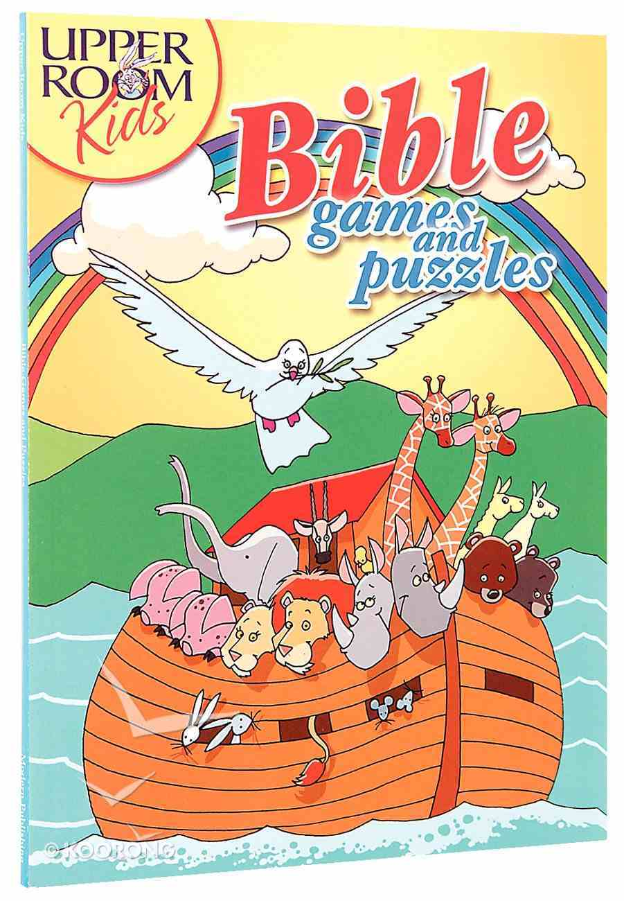 Bible Games and Puzzles Paperback
