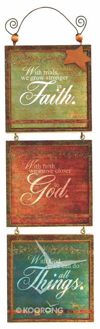 You're My Star 3 Tier Mdf Plaque: Faith, God, Things Plaque